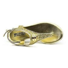 Michael Kors Demi Vervain Thongs Girl Sandals Shoes size 11 girls