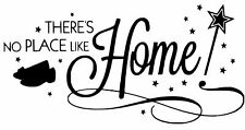 VINYL WALL ART STICKER WIZARD OF OZ - HOME - QUOTE  IDEAL FOR FRAMES CRAFT ETC