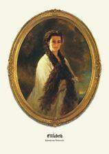 Sisi Sissi Elisabeth um 1864 Kaiserin von Österreich K&K Monarchie Faksimile 21