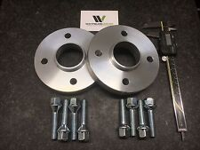 Pair 4x100 Hubcentric Spacers, 15mm Wide 57.1CB 8 Wheel Bolts VW AUDI UK Made