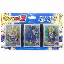 Dragon Ball Z Vegeta Magnet Collection 3pc set Showa Note JAPAN ANIME