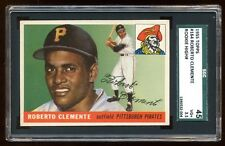 ROBERTO CLEMENTE 1955 TOPPS ROOKIE HIGH # AMAZING CENTERED + COLOR  SGC 45   HOF