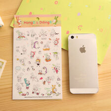 Hot! Cute Rabbit Diary Book Sticker Scrapbook Calendar Notebook Label Decoration