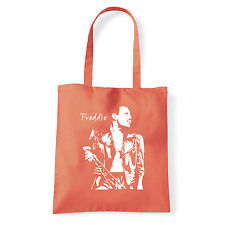 Art T-shirt, Borsa shoulder Freddie Mercury Queen, Corallo, Shopper, Mare