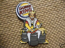 """1 """"Dabber King"""" Pin FREE SHIPPING (Heady Weed Dab Grateful Dead Trip Hat Pins)"""