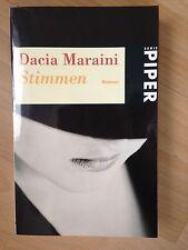 Stimmen * Dacia Maraini * Taschenbuch 1997 * Piper-Verlag