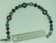 Sorrelli Northern lights Bracelet BBE2ASNL antique silver tone