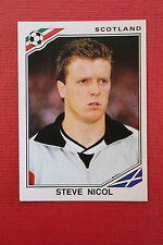 Panini MEXICO 86 N. 335 SCOTLAND NICOL With back GOOD CONDITION!!