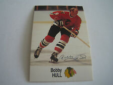 1988/89 ESSO NHL ALL-STAR COLLECTION BOBBY HULL CARD