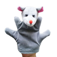 Baby Zoo Farm Animal Hand Glove Puppet Finger Sack Education Plush Toy Mouse