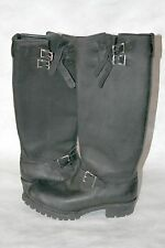"Wesco Men's size 11c Boss 18"" Engineer Boots black pre-owned"
