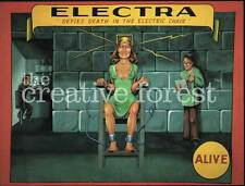 ELECTRA, Circus Freak Show Advertising Reproduction CANVAS PRINT 30x24 in.