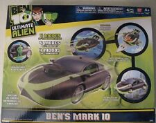 BEN 10 GREEN CAR Mark Ten INCLUDES EXCLUSIVE ACTION FIGURE * NEW IN BOX * BANDAI