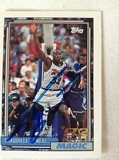 Shaquille O'Neal HOF SIGNED 92 Topps DRAFT PICK ROOKIE CARD w/COA 2 of 5 RARE
