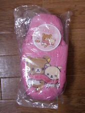 New! Rilakkuma Sandals Anime Slippers Unsold in Stores in Japan San-X Very Rare