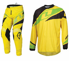 One Industries Atom Motocross MX ATV Gear Pants and Jersey Set Size 32/Large