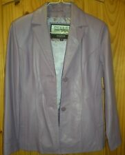 LEATHER SUIT JACKET/SKIRT by PELLE STUDIO WILSONS LEATHER  Womens Sz M