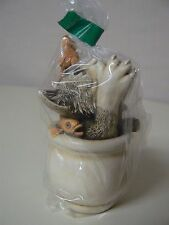 Harmony Kingdom COOKIE'S JAR Cat Goldfish Bowl #TJCA11 Treasure Jest Calvesbert