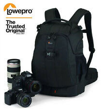 Black Lowepro Flipside 400 AW DSLR Camera Photo Bags Nylon Backpack Rain Covers