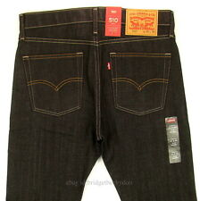 Levis 510 Jeans Skinny Fit Mens New Size 31 x 32 DARK BLUE STRETCH Levi's NWT