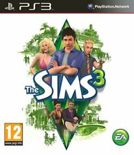New Sims 3 PS3 Sony Playstation 3 PAL EA Simulation Game Free UK 2nd Class P&P