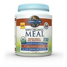 Garden of Life Organic Vegan Meal Replacement - Raw Plant Based Protein Powde...