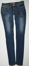 "NEW Ladies LEVI REVEL DEMI low SKINNY stretch JEANS woman W27 L32 size 10 32""leg"
