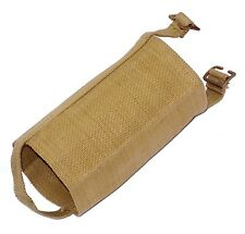 1940's Water Bottle Cover British Army M37 1937 pattern webbing flask holder WW2