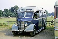 S W Anstey, Haslemere KPO714 Bedford OB Bus Photo Ref P704