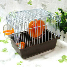 Portable cage Nursery Packed Drinking Toy FOR RAT MOUSE Pet blue pink brown