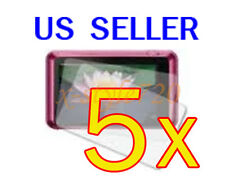 5x Sony CyberShot DSC-T110 Clear LCD Screen Protector Guard Cover Film