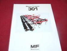 Massey Ferguson 301 Field Cultivator Dealer's Brochure 919-183-25-1