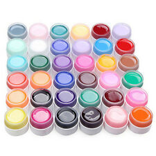 UV Nail Polish Gel Decor DIY Nail Art Tips Manicure Decoration Pure Color
