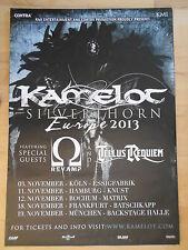 KAMELOT 2013 TOUR  orig.Concert-Konzert-Tour-Poster-Plakat DIN A1