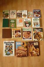 Konvolut Sammlung Bücher Kochbuch Backbuch Kräuterbuch Mikrowelle Deutsche Küche