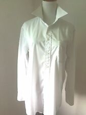 CHRISTIAN DIOR Monsieur Mens White Dress Shirt Sz 15 32/33 LS
