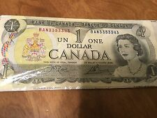 Canada 1973 (One) $1 Dollar Bill Canadian Note Mint Banknote