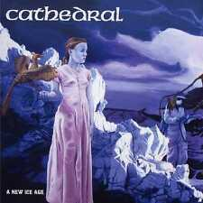 """CATHEDRAL """"A NEW ICE AGE""""  12"""" EP BLUE VINYL LIMITED"""