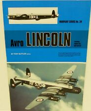 Warpaint Series No.34 - Avro Lincoln              40 Pages                  Book