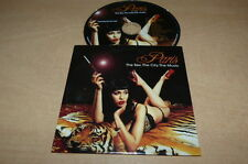 PARIS - THE SEX, THE CITY, THE MUSIC - MIRWAIS - TAXI GIRL !!!!RARE CD PROMO!!!