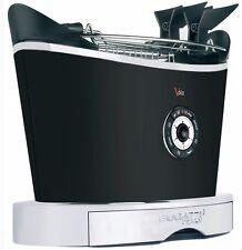 Bugatti Volo Matt Black 2 Slice Toaster 13-VOLON/UK- Free Shipping