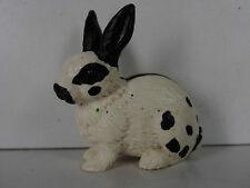 S126 - Schleich 13121 Kaninchen schwarz weiß / black and white rabbit