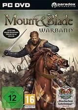 PC Computer Spiel ***** Mount and & Blade Warband * und *****************NEU*NEW