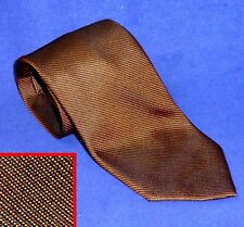 RARE $$$  ALTEA SEVEN 7 FOLD HANDMADE SILK NECK TIE COPPER TWILL ITALIAN SILK