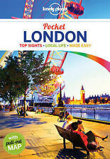 London Travel Guide & Pull-Out Map (2016 Latest Edition) By Lonley Planet NEW
