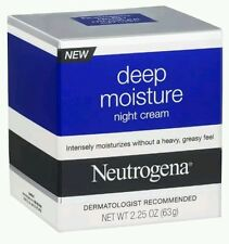 Neutrogena Deep Moisture Night Cream, 2.25 Ounce