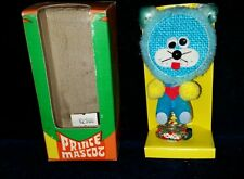 Vintage PRINCE MASCOT Blue LION Dashboard Car Springmount Dancer Googlie eyes #4