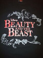 Disney Beauty and the Beast The Smash Hit Broadway Musical Black T-Shirt Small