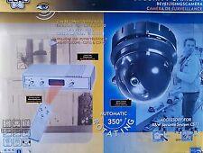 kit caméra surveillance anti-vol motorisée télécommandé + intercom audio NEUF