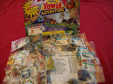 Yowies Series 6 ADVENTURE SERIES 1 * FULL SET OF 30 + PAPERS